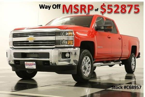 *SILVERADO 2500 HD CREW 4X4 - CAMERA* 2016 Chevy *6.0L V8 - BLUETOOTH