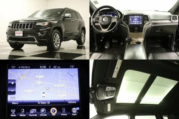 * GRAND CHEROKEE 4X4 w GPS* 2014 Jeep *SUNROOF-GPS*