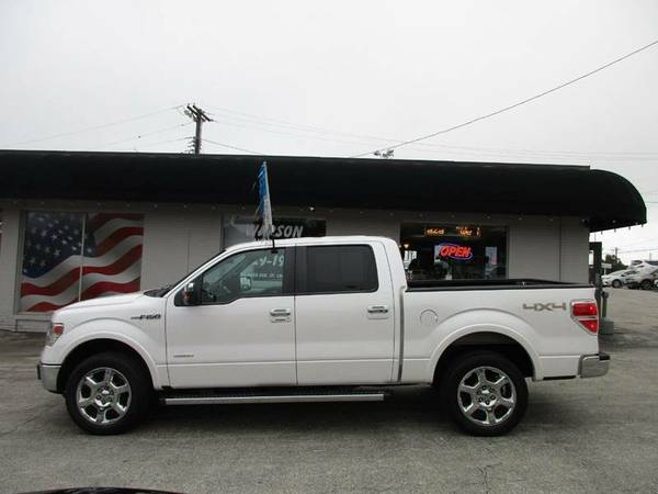 2013 FORD F150 LARIAT SUPERCREW 4X4 ECOBOOST *64K MILES* FULLY LOADED