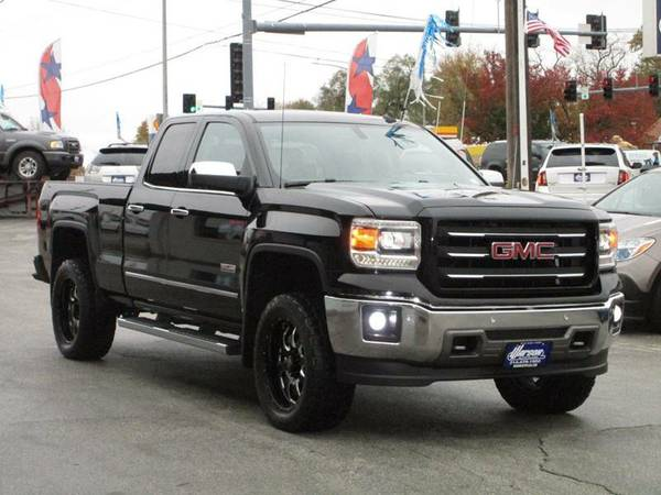 2014 GMC Sierra 1500 SLT 4X4 - DOUBLE CAB - LOADED - LIFTED -MUST SEE!
