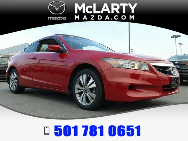 *2012* *Honda Accord* *EX-L* San Marino Red