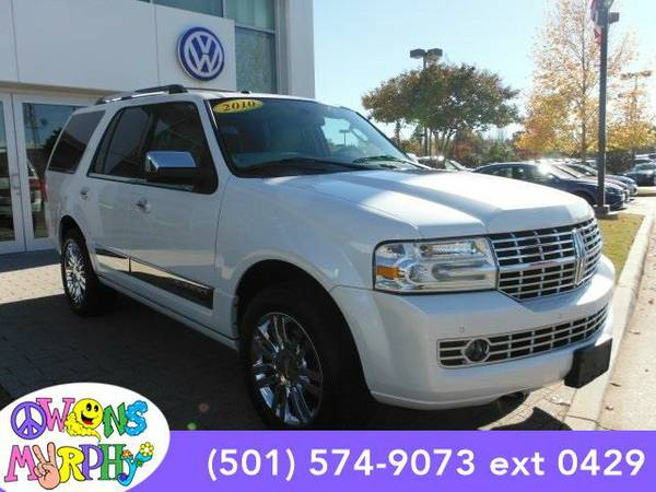 2010 *Lincoln Navigator* Limited - Lincoln White Platinum Metallic...