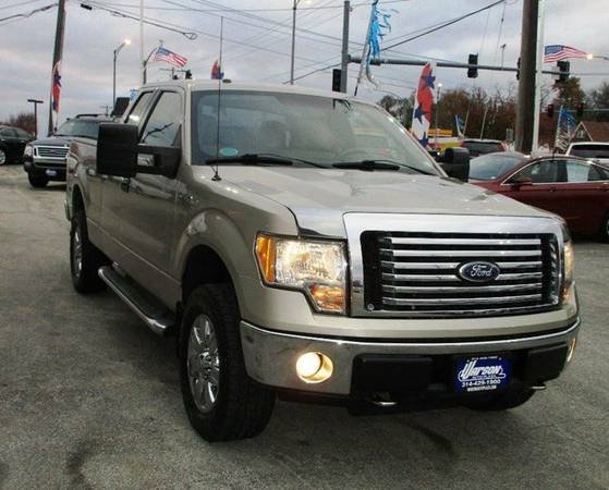 2010 Ford F150 XLT 4X4 - SUPER CAB - ONLY 43k MILES! 1 OWNER -MUST SEE