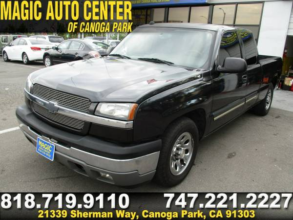 2005 CHEVROLET SILVERADO 1500 LS-WE FINANCE ANY TYPE OF CREDIT!VERY EZ