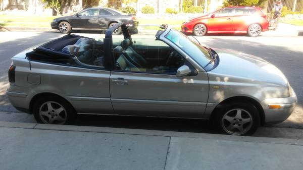 2000 VW Cabriolet