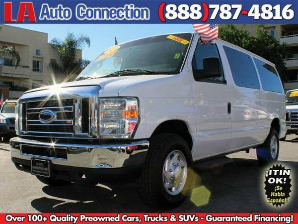 2013 *Ford* *E350* Passenger Van - As Low As $259/mo - BAD CREDIT OK!