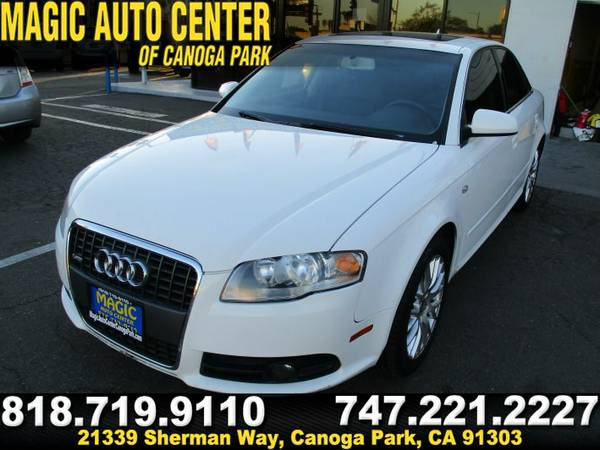 2008 AUDI A4 2.0T-BAD CREDIT/NO CREDIT?WILL GET U APPROVED!E-Z FINANCE