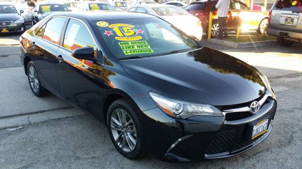 2015 TOYOTA CAMRY - $0 MONEY DOWN AND LOW PAYMENTS O.A.C.