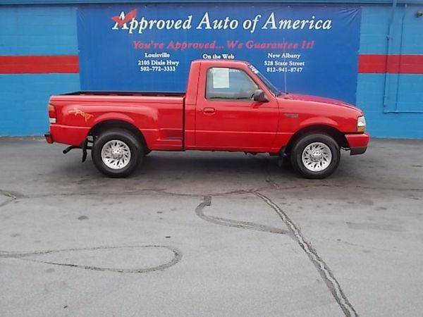1999 *Ford* *Ranger* XL Reg. Cab Short Bed 2WD - $299 DOWN SALE!!