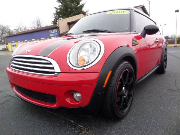 *****2008 MINI COOPER CLUBMAN RED AND BLACK****67K MILES***$7995