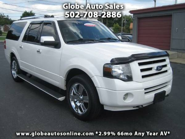 *LOW MILES* 2010 Ford Expedition EL Limited 4WD 2.99% 66MO AV