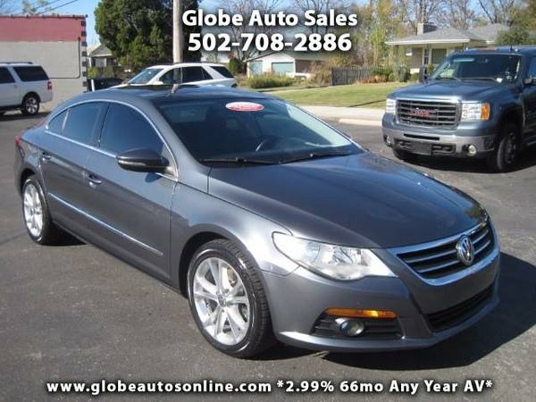 *SUNROOF & LEATHER* 2010 Volkswagen CC Luxury -2.99% 72MO AV