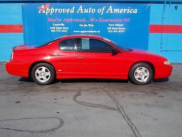2004 *Chevrolet* *Monte* *Carlo* SS - $299 DOWN SALE!!