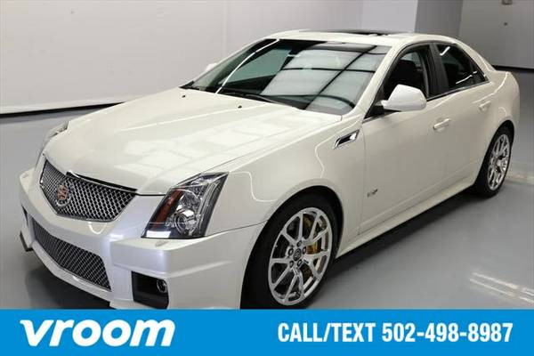 2012 Cadillac CTS-V 7 DAY RETURN / 3000 CARS IN STOCK