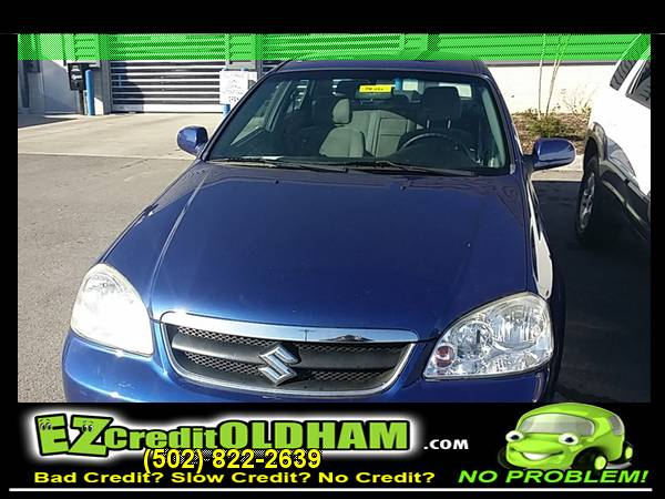 2008 *Suzuki* *Forenza* 2.0L 08 Buy Here Pay Here! Bad Credit? OK!