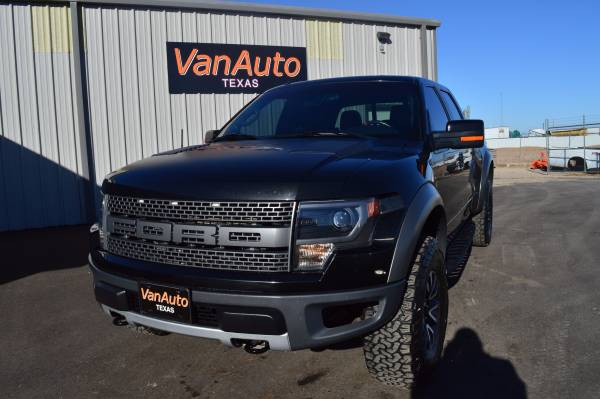 2013 Ford F-150 SVT Raptor SuperCrew 5.5-ft. Bed 4WD #1172