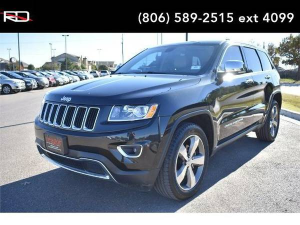 2015 *Jeep Grand Cherokee* Limited (Brilliant Black Crystal Pearlcoat)