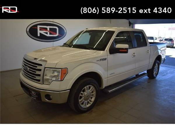 2014 *Ford F-150* Lariat (Oxford White)