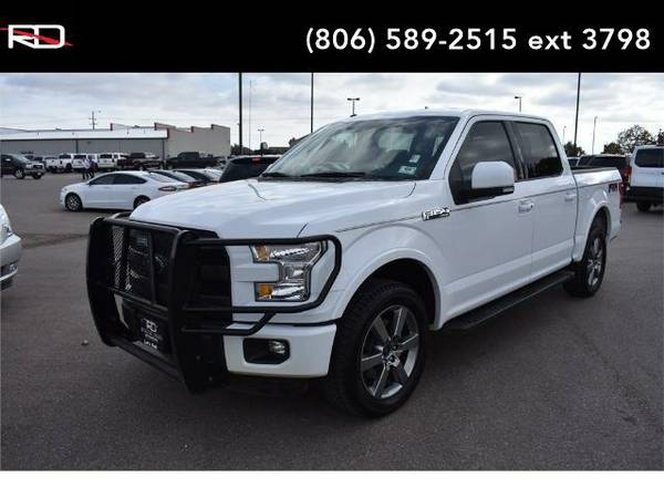 2015 *Ford F-150* Lariat (Oxford White)