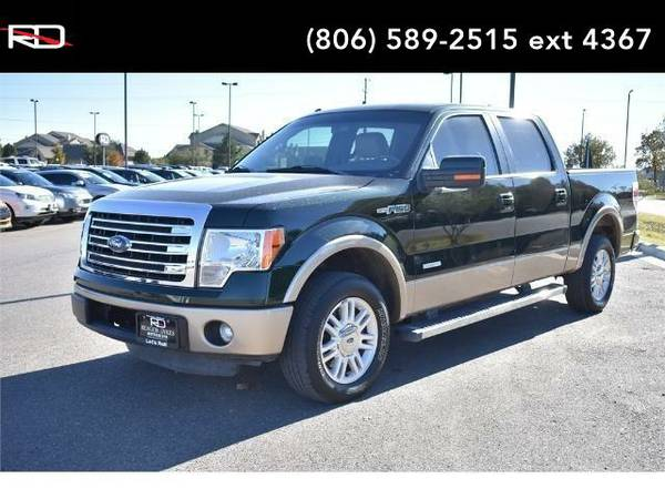 2013 *Ford F-150* Lariat (Green Gem Metallic)