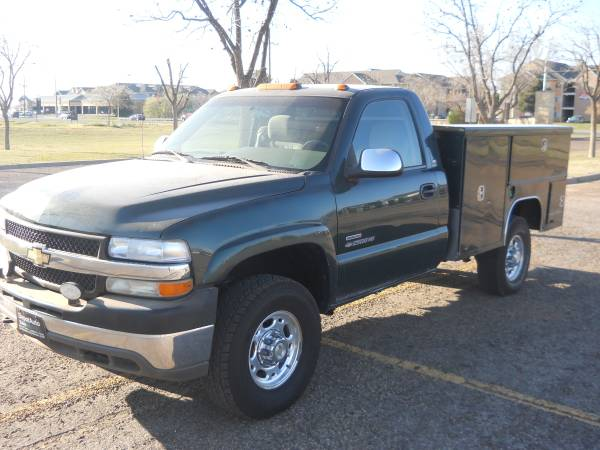 >>> $1,500 DOWN *** 2002 CHEVY DURAMAX 2500 4X4 UTILITY BED...