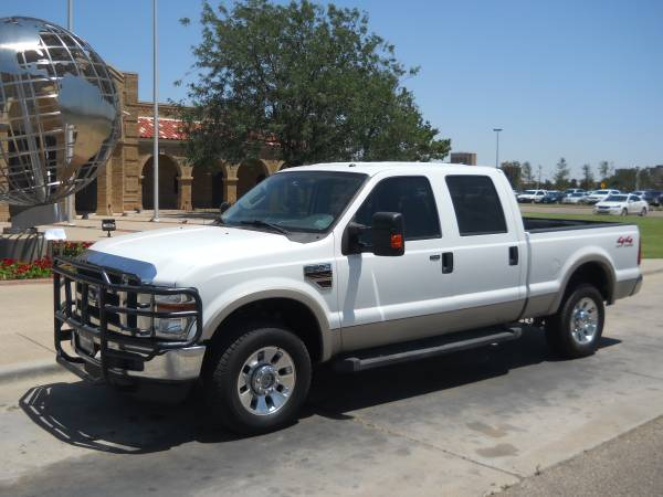 >>> $1,500 DOWN *** 2008 FORD F-250 LARIAT 4X4 DIESEL *** WE