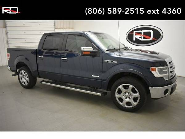 2014 *Ford F-150* Lariat (Blue Jeans Metallic)