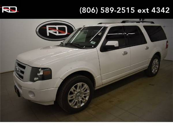 2013 *Ford Expedition EL* Limited (White Platinum Metallic Tri-Coat)