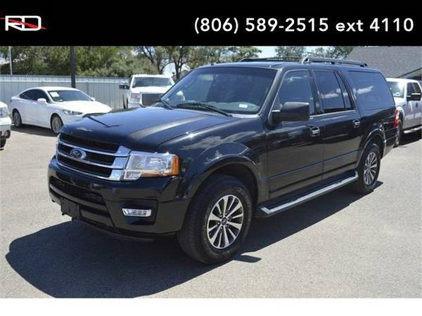 2015 *Ford Expedition EL* XLT (Tuxedo Black Metallic)