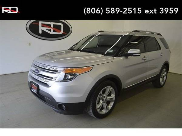 2014 *Ford Explorer* Limited (Ingot Silver Metallic)