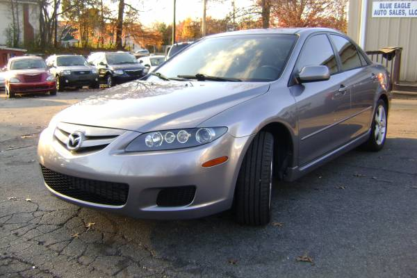 2007 MAZDA6 I SPORTS VALUE EDITION *CLEAN CARFAX*GREAT CONDITION 97K