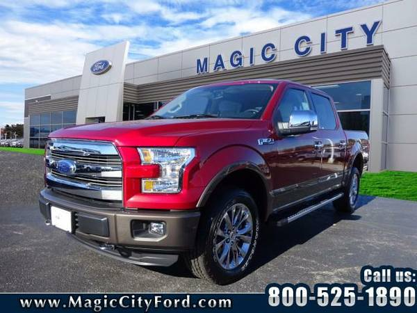 2016 *Ford F-150* Lariat (Ruby Red)