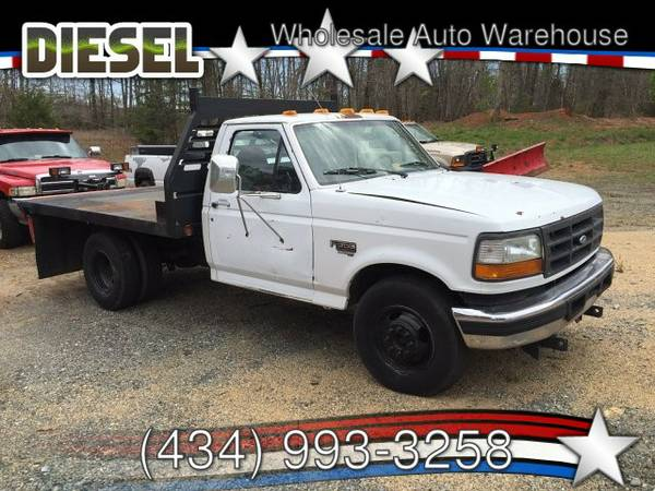 *GREAT PRICE* (stock 1537) 1997 Ford F-350 Flatbed 7.3l Diesel