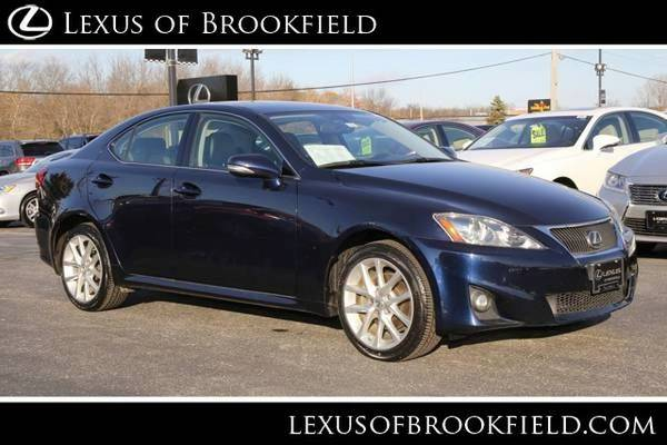 2012 Lexus IS 250 Premium Sedan IS 250 Lexus