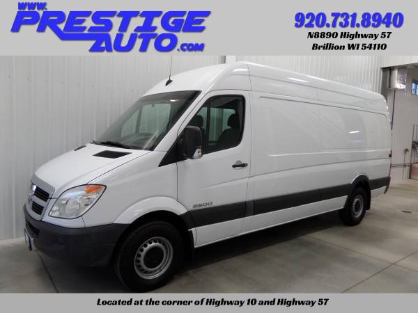 2008 Dodge Sprinter 2500 Extended HIGH ROOF Cargo Van Diesel - 1-Owner