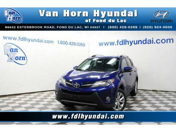 2014 *Toyota RAV4* AWD Limited - Toyota-Financing for Everyone