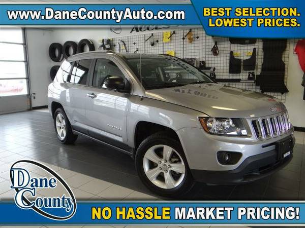 2016 *Jeep Compass* Sport - Jeep Billet Silver Metallic Clearcoat