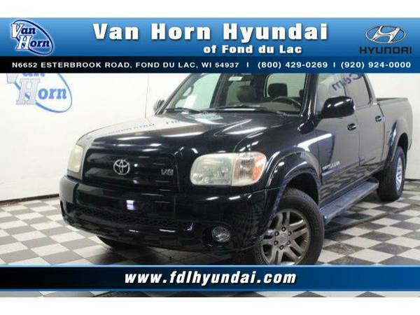 2006 *Toyota Tundra* 4x4 Double Cab Limited - Toyota-Financing for...