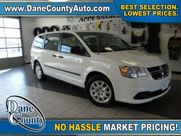 2015 *Dodge Grand Caravan* AVP/SE - Dodge Bright White Clearcoat