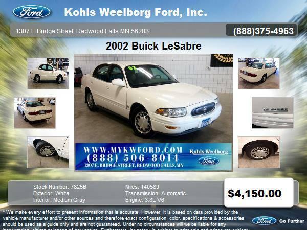 2002 LeSabre 4D Sedan Limited