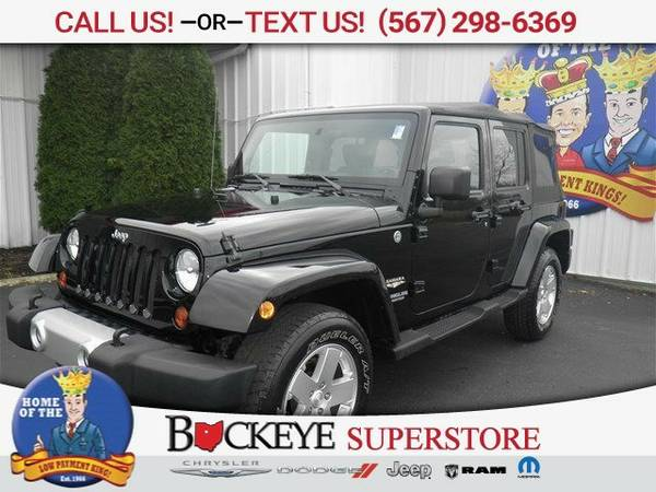 2010 Jeep Wrangler Unlimited Sahara SUV Wrangler Unlimited Jeep