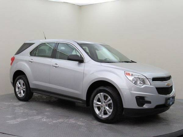2011 *Chevrolet Equinox* LS (Silver Ice Metallic)