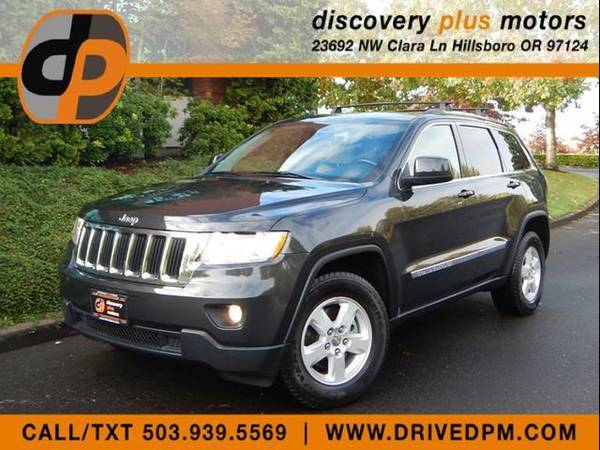 2011 Jeep Grand Cherokee 4x4 Laredo Tow Leather Roof Rack 71k NICE!