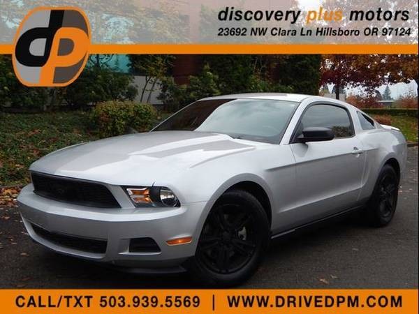 2012 Ford Mustang Premium Coupe V6 Auto 57k Shaker Audio Leather Clean