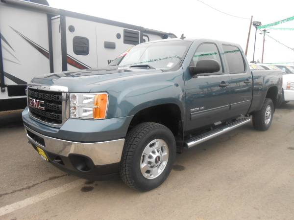 2011 GMC 2500 HD CREW CAB 4X4