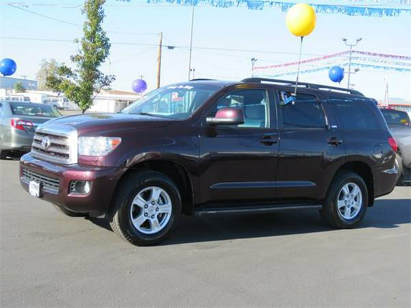 Certified: 2015 Toyota Sequoia Sport Utility SR5 - Contact Dealer