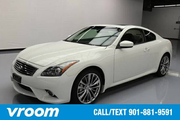 2013 Infiniti G37 Journey 2dr Coupe Coupe 7 DAY RETURN / 3000 CARS IN