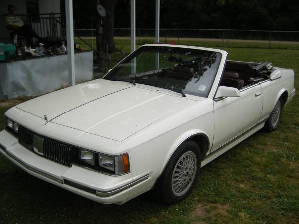 1984 Olds cutlass ciera convertible