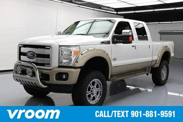 2012 Ford F-250 King Ranch 4dr Crew Cab 4WD Truck 7 DAY RETURN / 3000