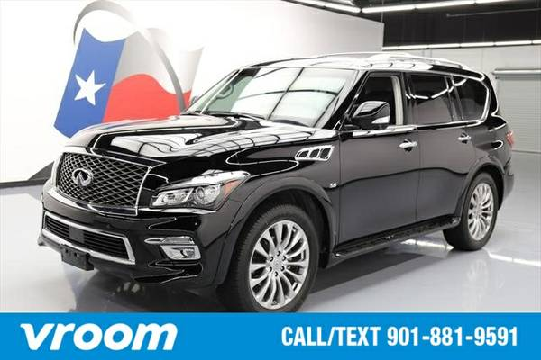 2015 Infiniti QX80 4dr SUV 7 DAY RETURN / 3000 CARS IN STOCK